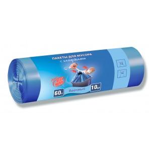 Almax 60 л 10 шт прочные с завязками